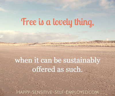3 Ways to make Free Offers Work in your Sensitive Business