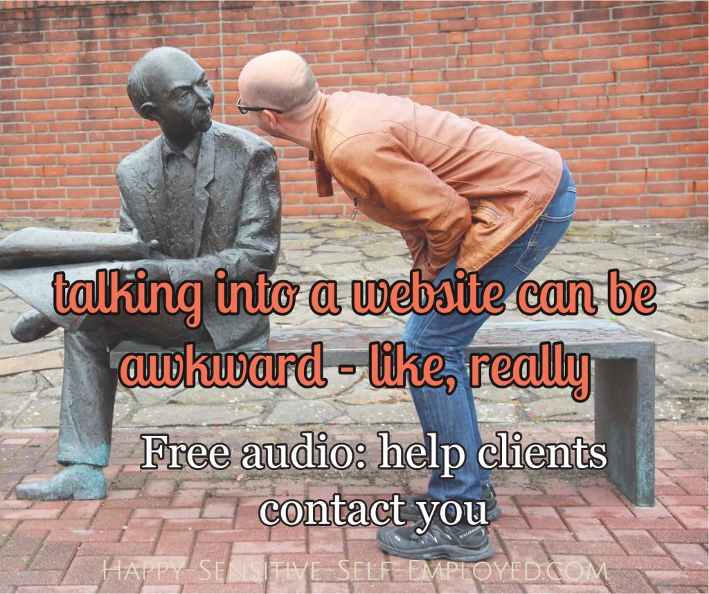 help clients contact you